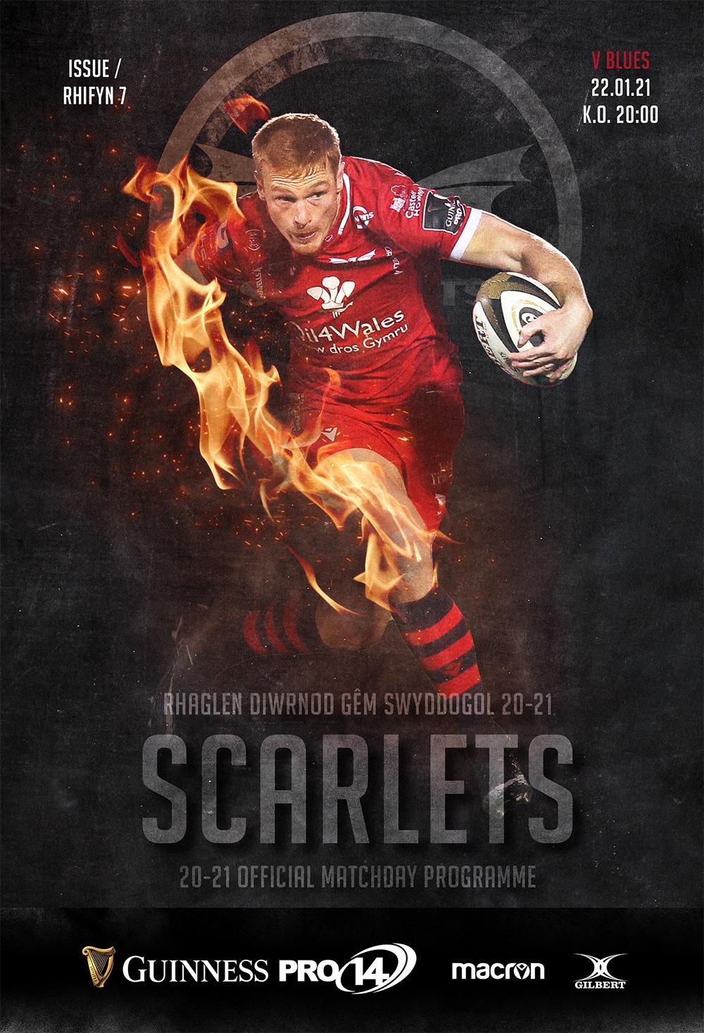 Scarlets v Cardiff Blues Matchday Program