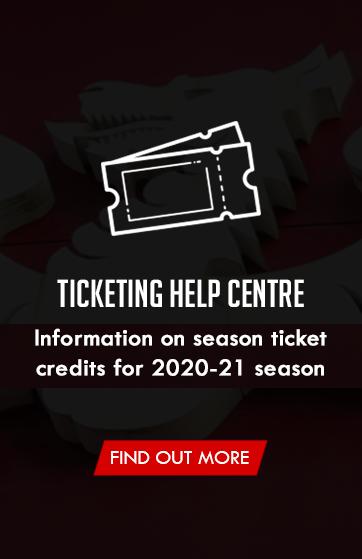 Season Tickets Credit 2020-21